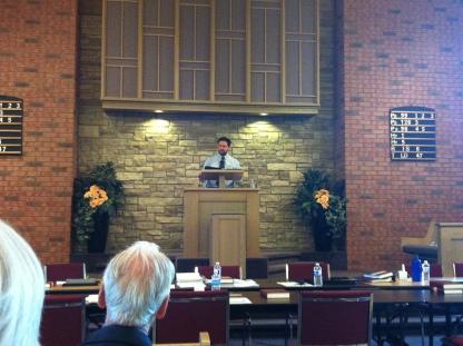 Preaching the sermon proposal.