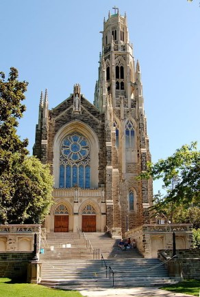 Cathedral Basilica of Christ the King - completed in 1933, is the cathedral of the diocese of Hamilton and the seat of Bishop Douglas Crosby.