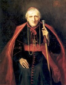 Cardinal John Henry Newman - A staunchly anti-Catholic Anglican who through his study of the early Church was convinced that Rome had the truth.